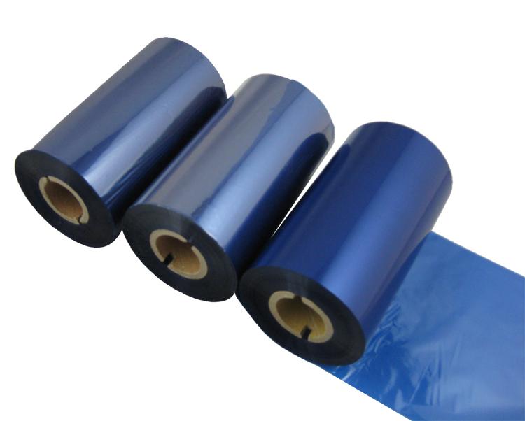 条码打印机印碳带--蓝色混合基