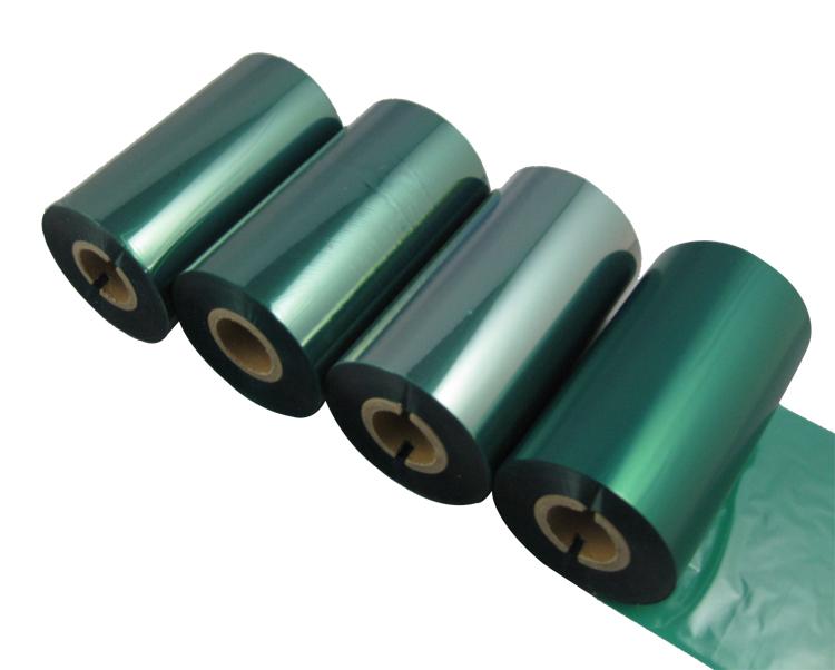 条码打印机印碳带--绿色混合基
