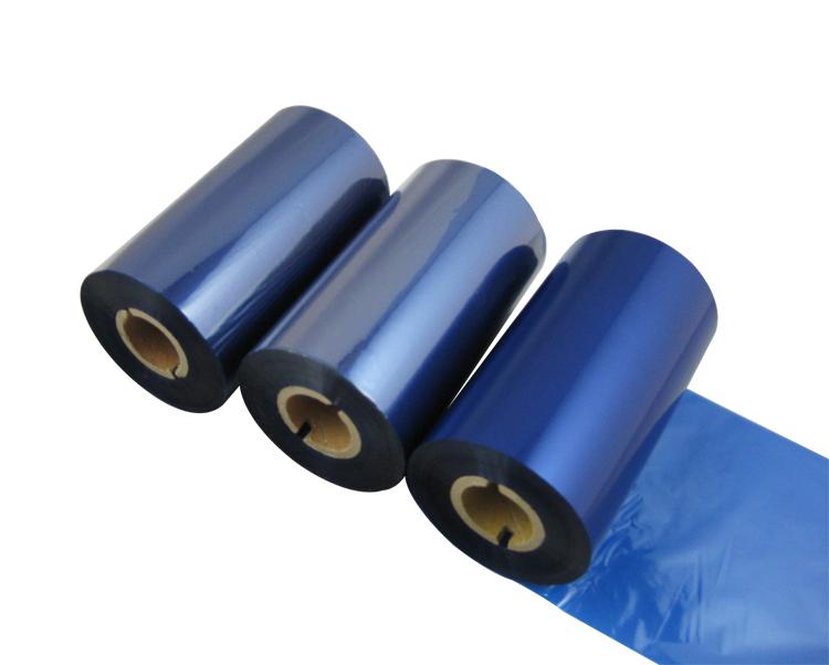 条码打印机印碳带--蓝色蜡基