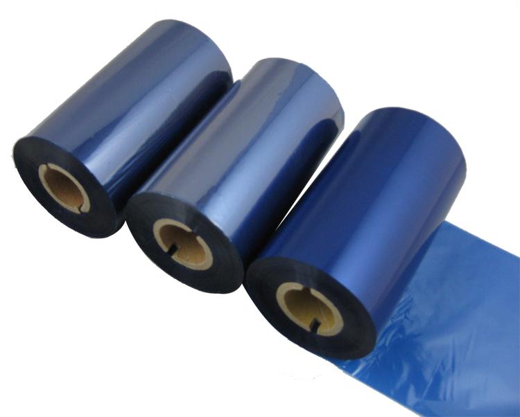 条码打印机印碳带--蓝色树脂基