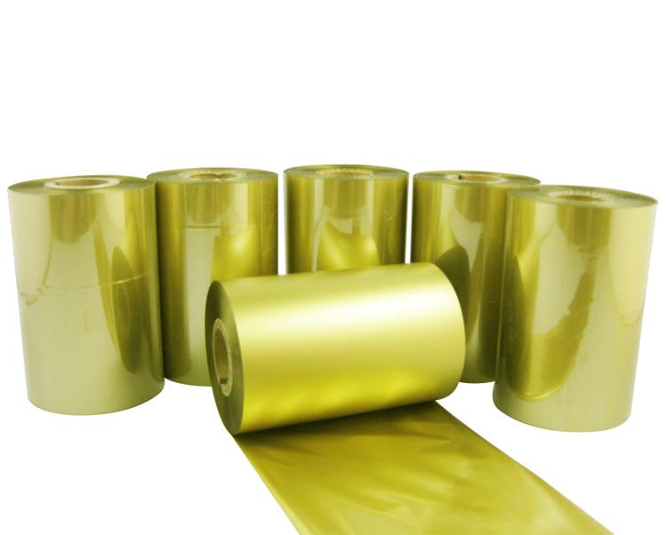 条码打印机印碳带--金色树脂基
