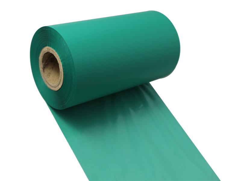 条码打印机印碳带--绿色水洗专用树脂基