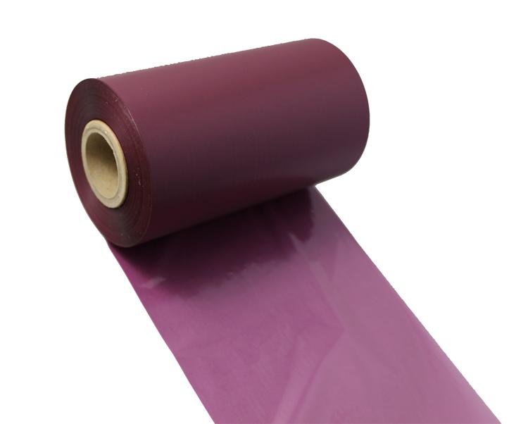 条码打印机印碳带--紫色水洗专用树脂基