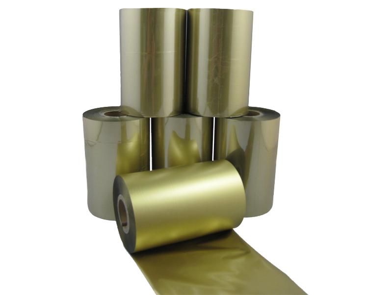 条码打印机印碳带--金色混合基