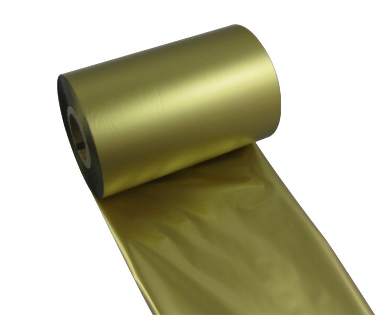 条码打印机印碳带--金色水洗树脂基