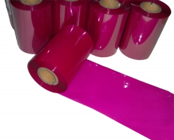 条码打印机印碳带--玫红色混合基