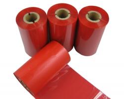 条码打印机印碳带--红色混合基
