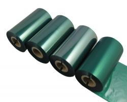 东莞条码打印机印碳带--绿色混合基