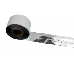 条码打印机印碳带--亮银色树脂基