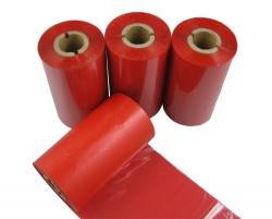 条码打印机印碳带--红色水洗专用树脂基