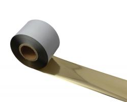 条码打印机印碳带--金色水洗专用树脂基