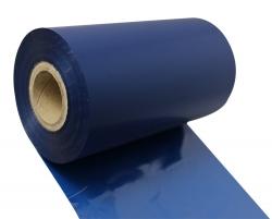 条码打印机印碳带--深蓝色水洗专用树脂基