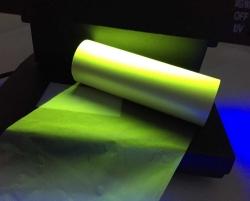 UV透明转绿色色带