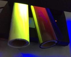 UV透明转黄色色带
