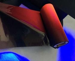 UV防伪黑色转红色带