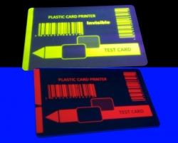 UV黄色证卡色带
