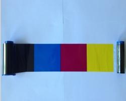 YMCKO彩色证卡色带兼容ZEBRA斑马P330I