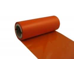 wax resin orange thermal ribbon