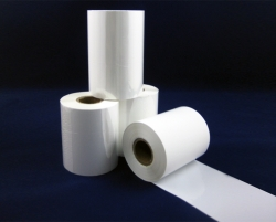 Printer ribbon white thermal ribbon