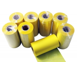 Printer ribbon type wax yellow printer ribbon